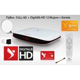 Familjare 12 Mujore + FlyBox FULL HD + Antena + Monobock 3 Sat