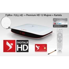 Premium 12 Mujore + FlyBox FULL HD + Antena